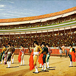 Jean-Léon Gérôme - Plaza de Toros, The Entry of the Bull