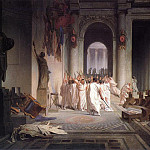The_Death_of_Caesar, Jean-Léon Gérôme