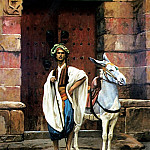 Egyptian_and_his_Donkey, Jean-Léon Gérôme