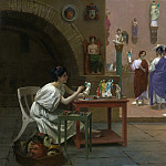 Jean-Léon Gérôme - Workshop At Tanagra