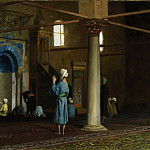 Jean-Léon Gérôme - At Prayer, Cairo