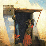 Woman from Cairo at Her Door, Jean-Léon Gérôme