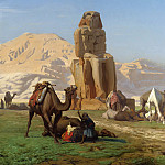 Jean-Léon Gérôme - The_Colossus_of_Memnon