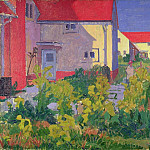 Harold Gilmans House at Letchworth, Harold Gilman