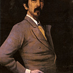 Greaves_Walter_Portrait_Of_James_abbott_McNeill_Whistler, Джеймс Эббот Мак-Нейл Уистлер