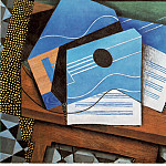 Juan Gris - Guitar on a table, 1915, 73x92 cm, Rijksmuseum Kroller-