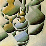 Juan Gris - Still life with oil lamp, 1911-12, 48x33 cm, Rijksmuseu