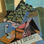 Juan Gris - The Pot of Geraniums, 1915, 81x60 cm, Collection S