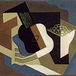 Juan Gris - Guitar and fruit dish, 1919, 60x73 cm, Jerome H. Stone