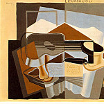 Juan Gris - The mountain Le Canigou, 1921, 65x100 cm, Albright-Kn