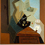 Juan Gris - The painters window, 1925, 100x81 cm, The Baltimore Mu