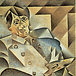 Juan Gris - Portrait of Picasso, 1912, 93.4x74.3 cm, The Art Instit