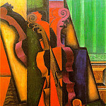 Juan Gris - Violin and guitar, 1913, 100x65.5 cm, The Colin Collect