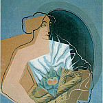 Juan Gris - woman-basket