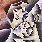 Juan Gris - portrait of the artists mother 1912