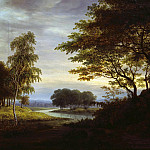 Karl Kuntz - Evening Landscape