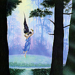 Roger Garland - Luthien in the Woods of Neldoreth