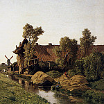 Paul Joseph Constantine Gabriel - Near the Klomp in Veenendael S