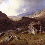 David von Krafft - Lledr Valley in Wales