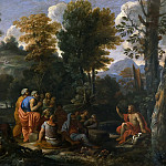 Landscape with a Sermon by Saint John the Baptist