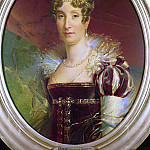 Portrait of Queen Marie Amelie of Bourbon (), De Schryver Louis Marie