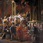 The Coronation Of Charles X, Francois Pascal Simon Gerard
