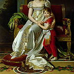 Hortense de Beauharnais Queen of Holland and her Son Napoleon Charles Bonaparte, Francois Pascal Simon Gerard