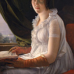 Seated Portrait of Marie-Philippe-Claude Walbonne (), De Schryver Louis Marie