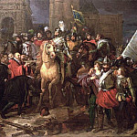 Entry of Henri IV into Paris 22nd March 1594, Francois Pascal Simon Gerard