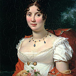 Portrait of a Lady in an Empire Dress, Francois Pascal Simon Gerard
