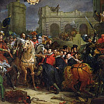 The Entry of Henri IV into Paris 22nd March 1594, Francois Pascal Simon Gerard