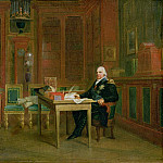 Louis XVIII in his Study at the Tuileries, Francois Pascal Simon Gerard