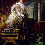Charles X in his Coronation Robes, Francois Pascal Simon Gerard