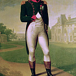 Napoleon I in Front of the Chateau de Malmaison, Francois Pascal Simon Gerard