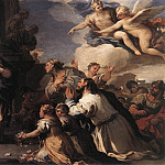 Luca Giordano - Psyche Honoured By The People