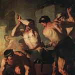 Luca Giordano - The Forge Of Vulcan