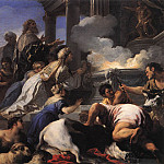 Luca Giordano - Psyches Parents Offering Sacrifice To Apollo