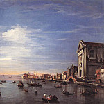 Francesco Guardi - The Giudecca Canal with the Zattere