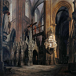 Eduard Gaertner - In Halberstadt Cathedral