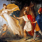 Venus appears to Aeneas on the shores of Libya