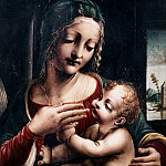 Bernardino Luini - Madonna and Child