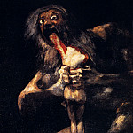 Francisco Jose De Goya y Lucientes - Saturn Devouring His Sons