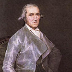 Francisco Jose De Goya y Lucientes - Portrait of Francisco Bayeu