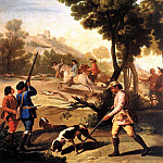 Francisco Jose De Goya y Lucientes - The Quail Shoot