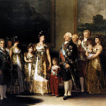 Francisco Jose De Goya y Lucientes - Charles IV and his Family