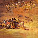 Francisco Jose De Goya y Lucientes - Scene of a bullfight