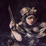 Francisco Jose De Goya y Lucientes - judith zoom
