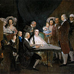 Francisco Jose De Goya y Lucientes - The Family of the Infante Don
