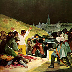 Francisco Jose De Goya y Lucientes - The Shootings of May Third 1808, 1814, Prado