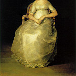 Francisco Jose De Goya y Lucientes - Countess Of Chinchon